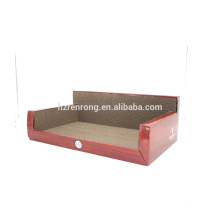 Scratcher de chat de carton ondulé de fournitures d'animal familier SCS-7004